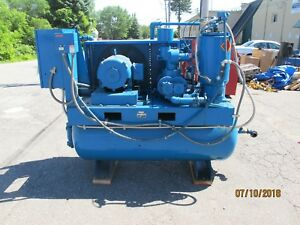 Quincy Qst 15a 15hp Rotary Screw Air Compressor 26k Hours Qst15a312g