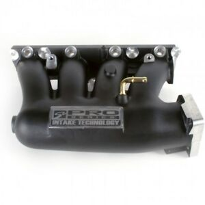 Skunk2 Pro Black Series Intake Manifold For 2002 2006 Rsx And 2002 2005 Civic Si