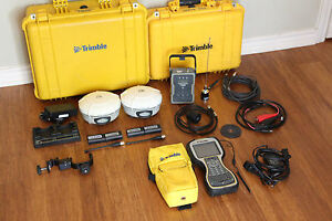 Trimble Dual R8 Model 3 Gps Gnss Glonass Base Rover Rtk System W Tsc3 Tdl 450h