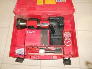 Hilti Dx 600n Powder Actuated Nail Gun