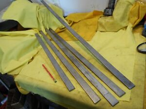 5 Pc Lot Stainless Steel Flat Bar Stock Machine Shop 3 16 X 1 X 158 3 4 Total
