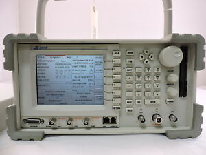Aeroflex P25 Wireless Radio Test Set Ifr2975 With Remote Cal Evm
