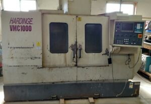 Hardinge Vmc1000 Cnc Mill With Chip Conveyor