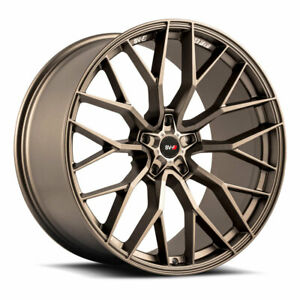 20 Savini Sv F2 Forged Bronze Concave Wheels Rims Fits Chevrolet Camaro