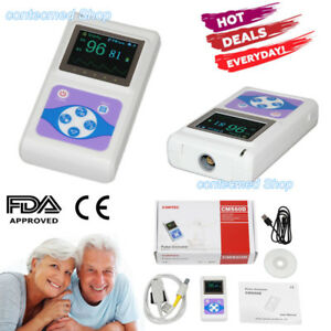 Usa Human Use Handheld Spo2 Pulse Oximeter Spo2 Probe Pc Software Ce Fda Cms60d