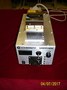 Coherent Sapphire 488 30 Lab Laser single Frequency Witn 2 Hours Use Warranty