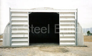 Durospan Steel 25x20x14 Metal Building Kits Barn Shop Tool Shed Factory Direct