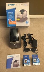 Dymo Label Writer Duo 93105 Thermal Label Printer Gently Used