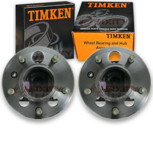 Timken Rear Wheel Bearing Hub Assembly For 1998 2002 Oldsmobile Intrigue Wo