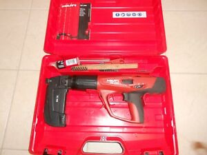 Hilti Dx 460 Powder Actuated Nail Gun With Hilti Mx 72 Magizine Hilti Dx 460