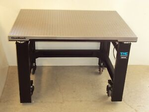 Tested Tmc Cleanbench Optical Table Micro g Gimbal Isolation Casters Breadboard