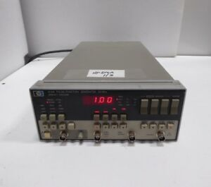 Hp Agilent 8116a Pulse Function Generator 1mhz 50mhz 3 Units Available