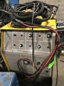 Esab Heliarc 350 Ac dc Tig Welder Includes New Kit