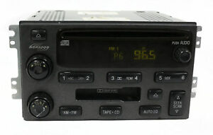 2003 06 Hyundai Santa Fe Radio Am Fm 6 Disc Cd Player Part Number B4096180 26900