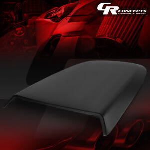 Racing Style Air Flow Intake Hood Scoop Bonnet Vent Cover For 05 09 Ford Mustang