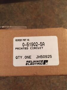 Reliance Electric 0 51902 5a Driver Circuit Board new