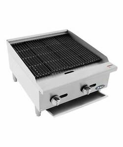 New 24 Radiant Char Broiler Commercial Restaurant Duty Natural Or Lp Gas