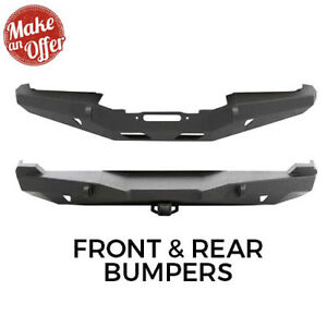 Smittybilt Xrc Rock Crawler Front Rear Bumper For 1984 2001 Jeep Cherokee Xj