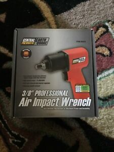 Central Pneumatic Earthquake 3 8 Professional Air Impact Wrench Model 68425