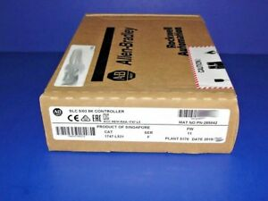 2015 2016 Factory Sealed Allen Bradley 1747 l531 f 5 03 Slc 500 Processor