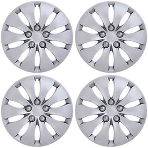 4pc Fits 2008 2009 2011 2012 Honda Accord 16 Inch Silver Hubcaps Wheel Covers