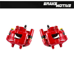 Rear Red Brake Calipers For 2005 2006 2007 2008 2009 2010 Scion Tc