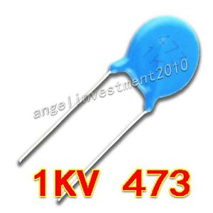 New High Voltage Ceramic Capacitor 1kv473 1000v 47nf