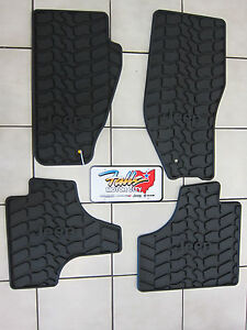 2011 2012 Jeep Liberty Rubber Slush Mats Floor Mats Set Of 4 Mopar Slate Grey