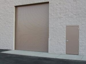 Durosteel Janus 9 Wide By 12 Tall 2000 Series Commercial Roll up Door Direct