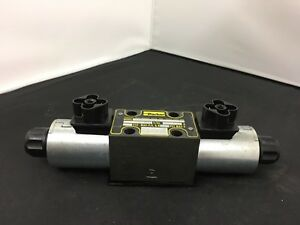 Parker Solenoid Operated Hydraulic Directional Valve Model D1vw001cnjw