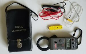 Extech Ac Dc Volt Digital Clamp Meter And Omega Thermocouple