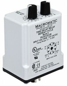 Macromatic Time Delay Relay Tr 55122 10