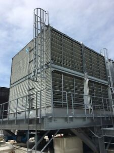 Bac Cooling Tower With Stainless Steel Base 3985c qm 2 Cell Tower 1 970 Tons