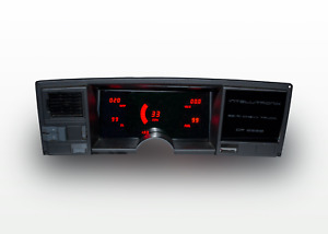 1988 1991 Chevy Truck Digital Dash Panel Red Led Gauges For Ls Swap Made In Us
