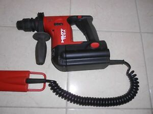 Hilti Te 6 a Cordless Rotary Hammer Drill With Hilti Te 6 a Bap Battery Adapter