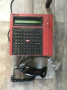 Kronos Model 551 8600900 061 Time Clock With Hand Scanner