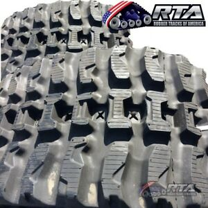 Two Rubber Tracks For Case 450ct Tr320 Tv380 450x86x55 Q tread