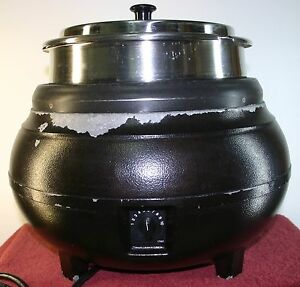 Vollrath 1776 Commercial Food Soup Warmer Nsf Certified Hinged Lid
