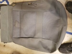 2006 Dodge Ram 1500 Front Driver S Seat Bottom Cover Gray Mopar Factory Oem Used