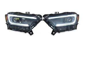 2015 2017 Ford Mustang Xb Led Headlights Morimoto Pair Brand New In Stock