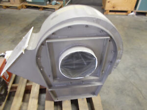 Naaykens Chicago Blowers 4hp Material Handling Centrifugal Blower 460v 3 Phase