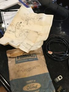 Nos 1965 Ford Falcon Comet 4 Speed Back Up Lamp Switch Kit C5dz 15a490 B