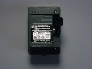 Square D 2510kw2h Non reversing Manual Switch 30amp 3phase 3pole