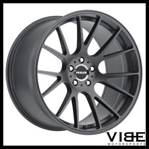 20 Rsr R801 Forged Graphite Concave Wheels Rims Fits Ford Mustang Gt