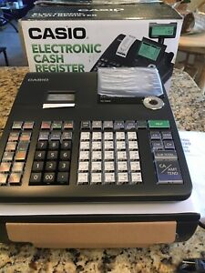Casio Electronic Cash Register Se s800 New In Box