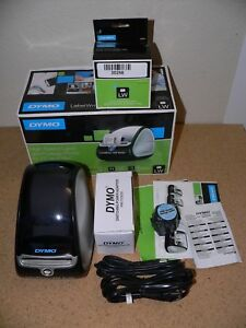 Dymo Labelwriter 450 Turbo Label Thermal Printer Extra Label Rolls Barely Use