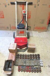 Edco Turbo Sec 1 5l Single Head Concrete Grinder Scarifier Surfacer With Extras