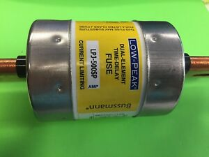 New Cooper Bussman Low Peak Fuse Dual Element time Delay Lpj 500sp