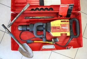 Hilti Te 905 avr Heavy Duty Demolition Drill Jack Hammer Breaker W Case Bits