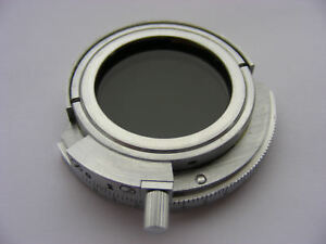 New Rotating Polarizer For Zeiss West Microscope Epi Condenser